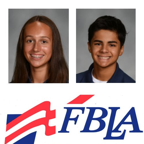 Amber & Lucas Place at FBLA Competition