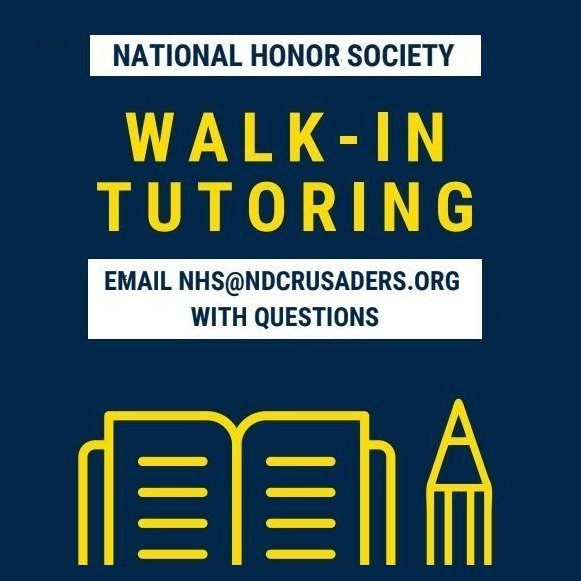 National Honor Society Tutoring